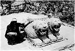 Lion columnbase